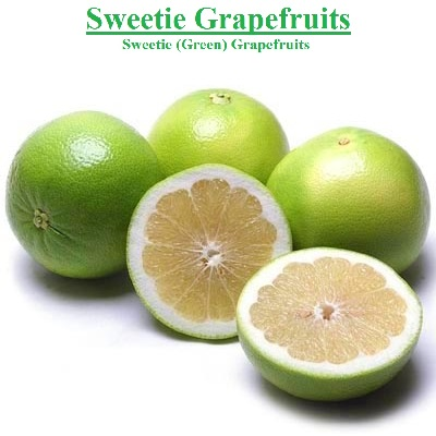 Planet Israel - Fresh Fruits | Fresh Citrus | Fresh Vegetables | Concentrated Pure Fruit Juice - Fresh Sweetie Green Grapefruit / Grapefruits from Israel